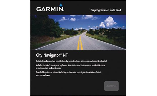 Garmin City Navigator Europe NT: Greece  & Italy Front
