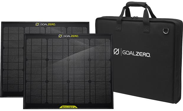 Goal Zero Yeti 1250 Kit Includes two Boulder 30 solar panels and a travel case
