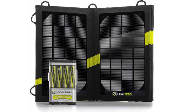 Goal Zero Guide 10 Plus Solar Recharging Kit Front