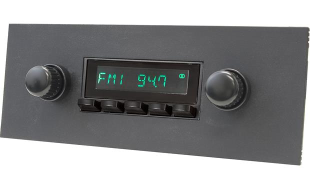 RetroSound 415-36-96 Faceplate and Knob Kit Kit shown installed with black Model Two radio (sold separately)