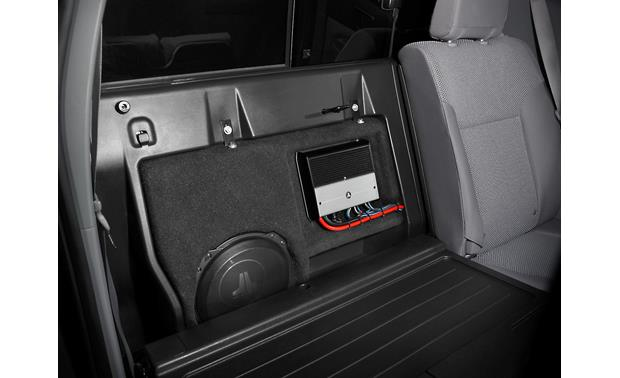 JL Audio Stealthbox® Stealthbox� shown installed in Toyota Tacoma Double Cab (amp sold separately)
