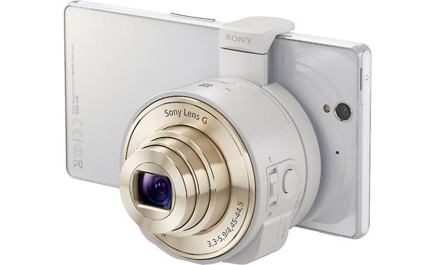 Sony Cyber-shot® DSC-QX10 Front (smartphone not included)