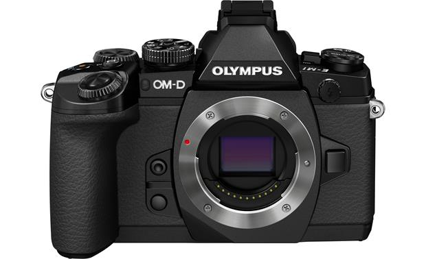 Olympus OM-D E-M1 (no lens included) Front, straight-on