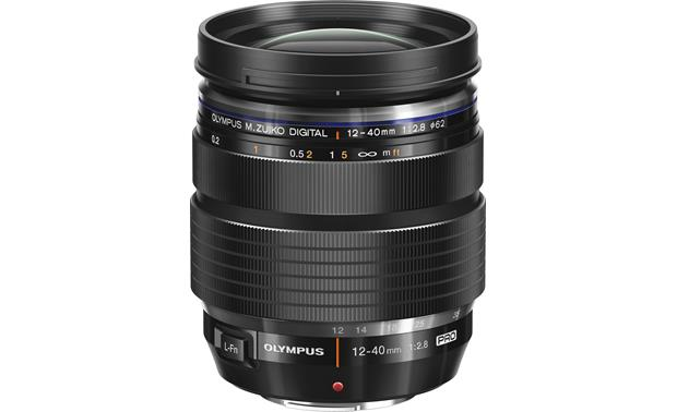 Olympus ED 12-40mm f/2.8 PRO Top view