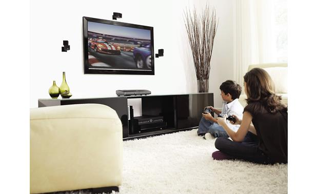Bose® Lifestyle® 535 Series II home entertainment system Shown with optional wall-mount brackets