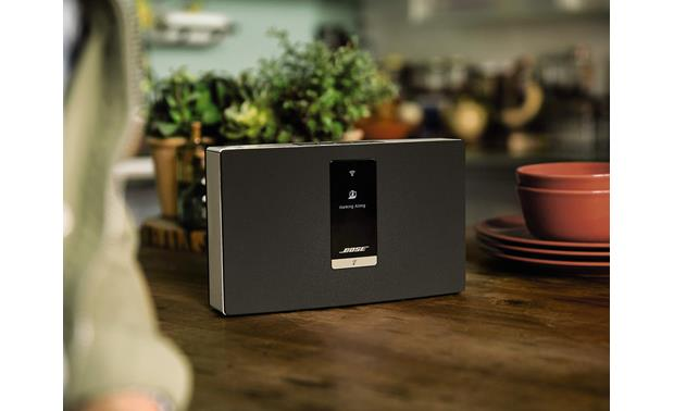 Bose® SoundTouch™ Portable Wi-Fi® music system Compact design fits just about anywhere