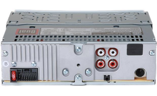dual xdma6630 cd receiver at crutchfield com  dual xdma6630 back