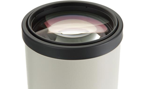 Canon EF 400mm f/5.6L Front of lens (close-up)