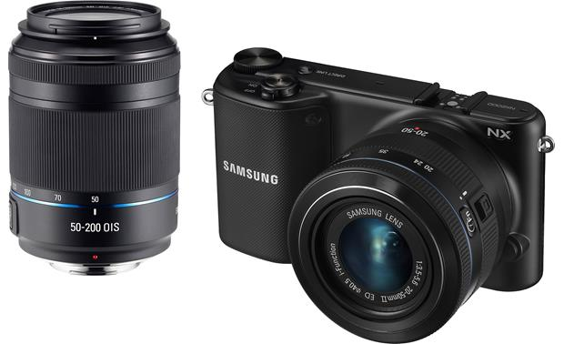 Samsung NX2000 Smart Camera Two Lens Kit Front