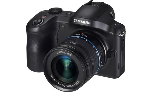 Samsung Galaxy NX-GN120 3/4 view from right