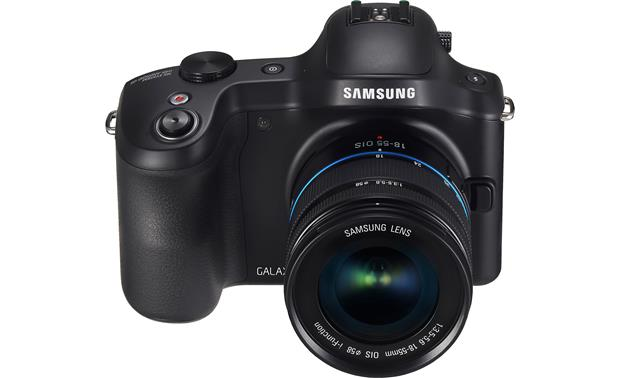 Samsung Galaxy NX-GN120 Front, higher angle