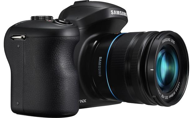 Samsung Galaxy NX-GN120 Right side view