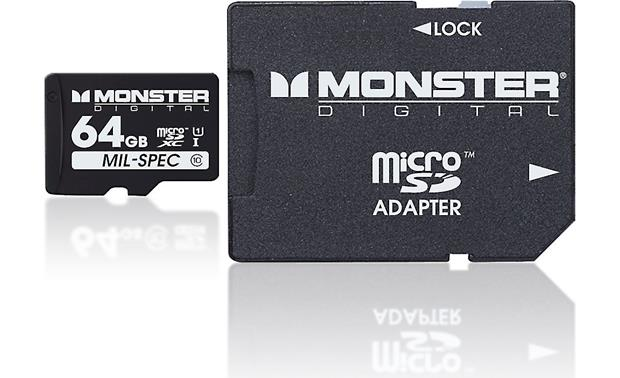 Monster Digital microSDXC Memory Card Front