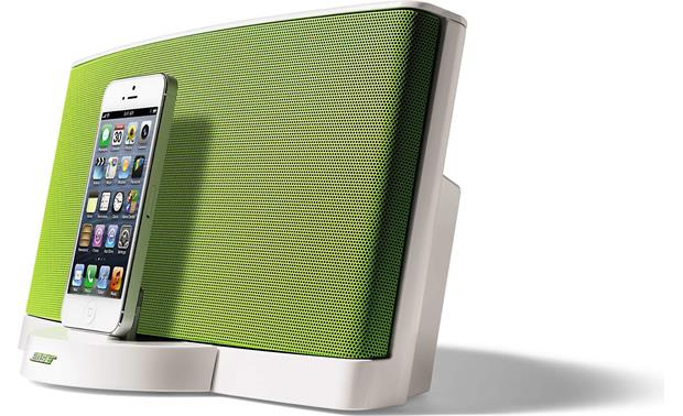 Bose® SoundDock® Series III digital music system — Limited Edition Color Collection Green (iPhone not included)
