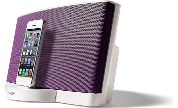 Bose® SoundDock® Series III digital music system — Limited Edition Color Collection Purple (iPhone not included)