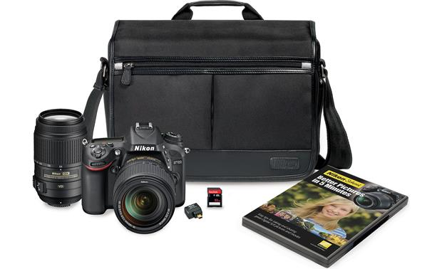 Nikon D7100 Two Zoom Lens Bundle Front