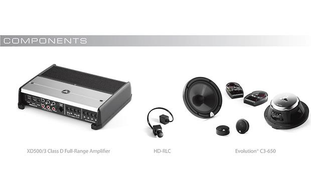 JL Audio StealthMod™ Audio Upgrade StealthMod audio components