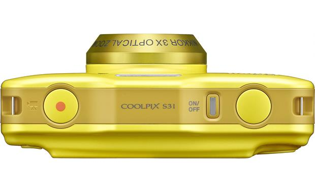 Nikon Coolpix S31 Top view