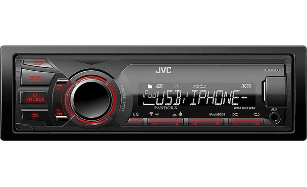 jvc kd x200 digital media receiver at crutchfield com rh crutchfield com JVC Wiring Harness Diagram JVC AVX 900 Wiring Diagram