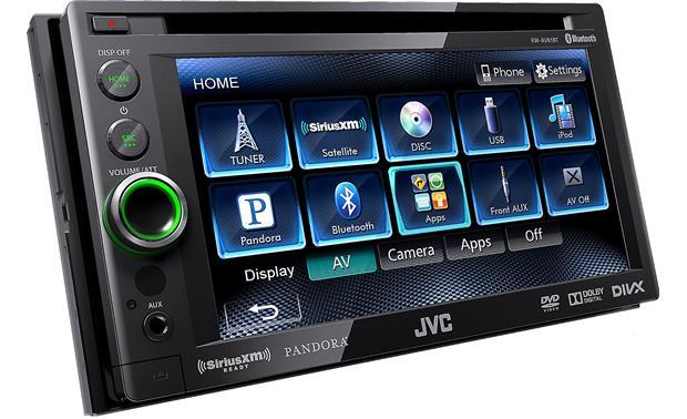 jvc kw av61bt dvd receiver at. Black Bedroom Furniture Sets. Home Design Ideas
