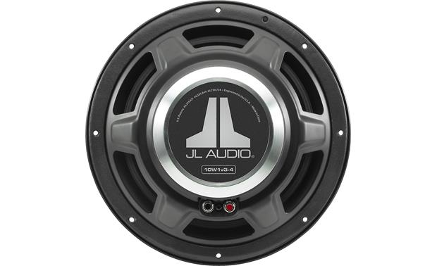 JL Audio 10W1v3-4 The magnet and basket structure are at the heart of the W1v3's power plant