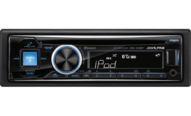 alpine cde 143bt cd receiver at. Black Bedroom Furniture Sets. Home Design Ideas