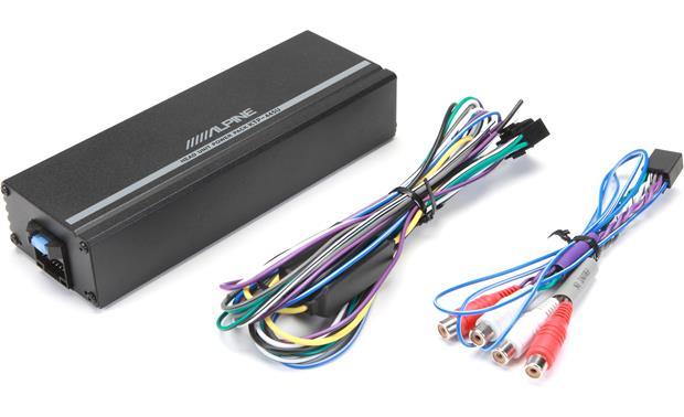 Fabulous Alpine Ktp 445U Power Pack Compact 4 Channel Car Amplifier 45 Wiring Digital Resources Remcakbiperorg