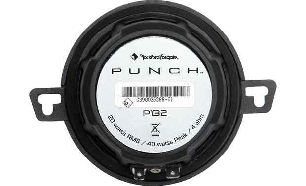 Rockford Fosgate P132 Back