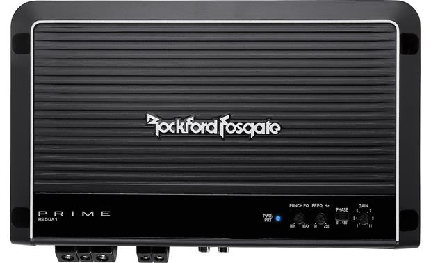 g575R250X1 F rockford fosgate prime r250x1 mono subwoofer amplifier 250 watts rockford fosgate crossover wiring diagram at fashall.co