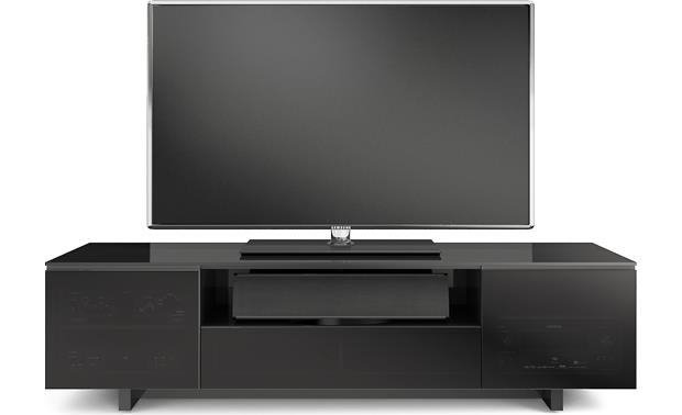 BDI NORA SLIM™ 8239-S Gloss Black (TV and components not included)