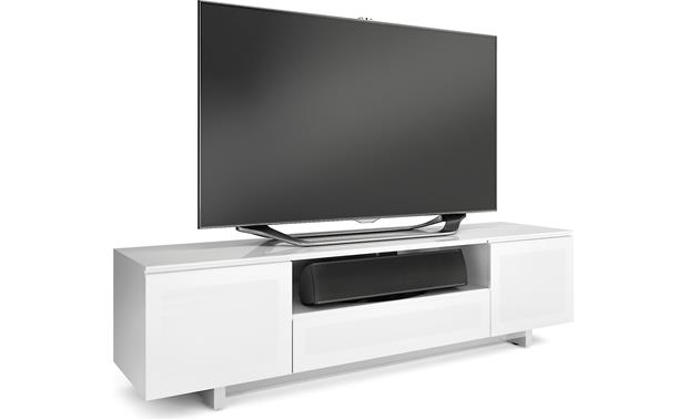 BDI NORA SLIM™ 8239-S Gloss White (TV and components not included)