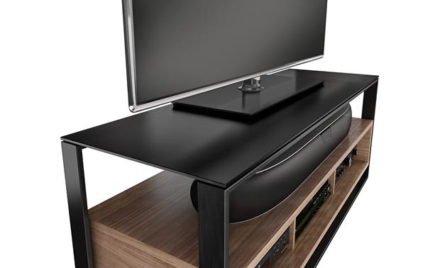 BDI Sonda 8656 Glass top detail (TV and components not included)