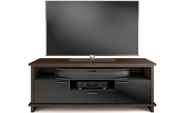 BDI Braden 8828 Walnut (TV and components not included)