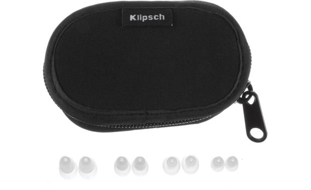 Klipsch A5i Includes carrying case and eartip assortment