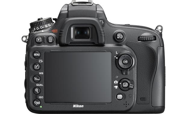 Nikon D610 Camera Bundle Back