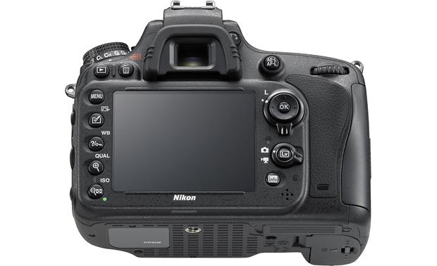 Nikon D610 (no lens included) Back (lower angle)