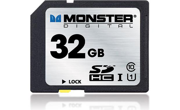 Monster Digital SDHC Memory Card Front