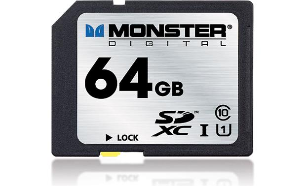 Monster Digital SDXC Memory Card Front