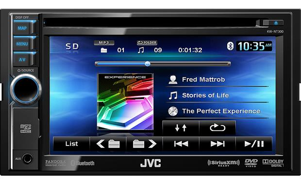 JVC KW-NT300 (Refurbished) See all pertinent song info