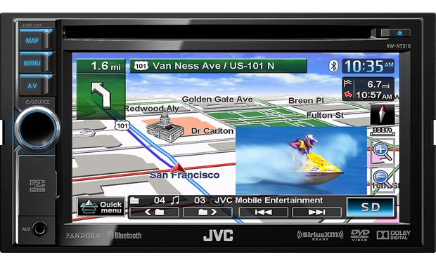 JVC KW-NT310 (Refurbished) Front