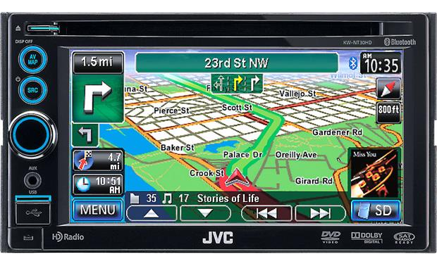 JVC KW-NT30HD (Refurbished) Front