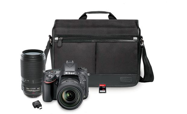 Nikon D610 Two Lens Camera Bundle Front