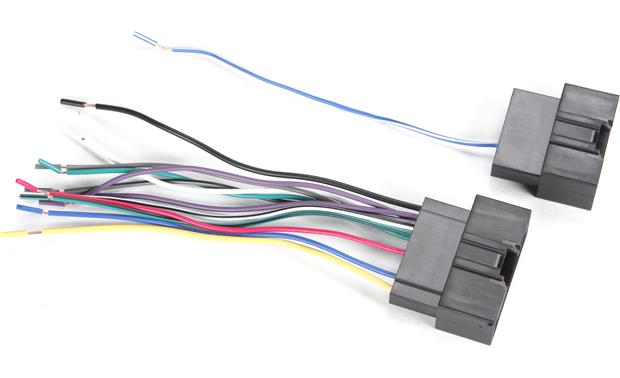 Metra 70-5524 Receiver Wiring Harness Wiring harness package