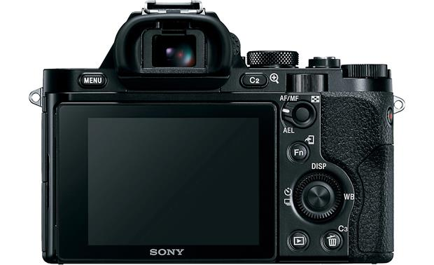 Sony Alpha a7R (no lens included) Back