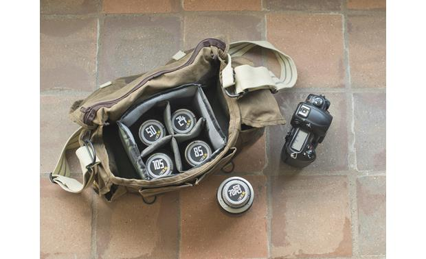 BlackRapid Lens Bling Shown in typical use (bag other gear not included)