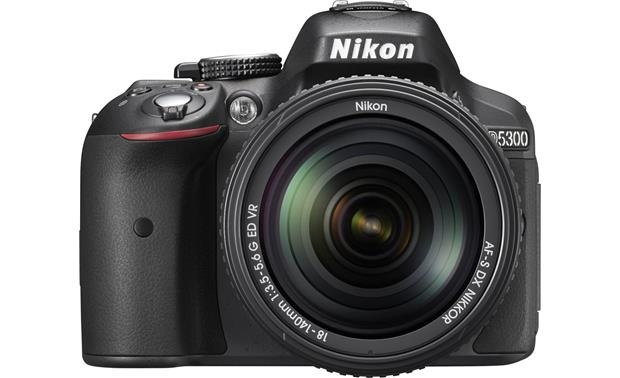 Nikon D5300 Kit Front, straight-on