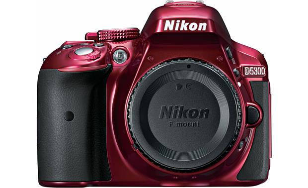 Nikon D5300 (no lens included) Front (Red)