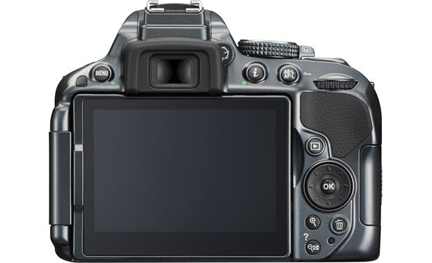 Nikon D5300 (no lens included) Back
