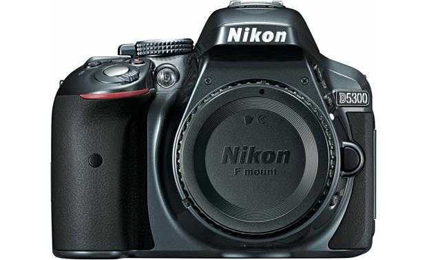 Nikon D5300 (no lens included) Front (Grey)