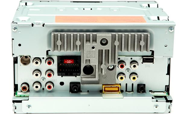 Pioneer AVH-X1500DVD Rear